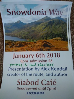 Route Presentation – Moel Siabod Cafe – 6th Jan