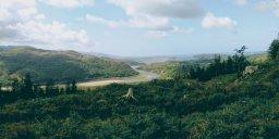 The Vale of Ffestiniog from Coed Llyn y Garnedd